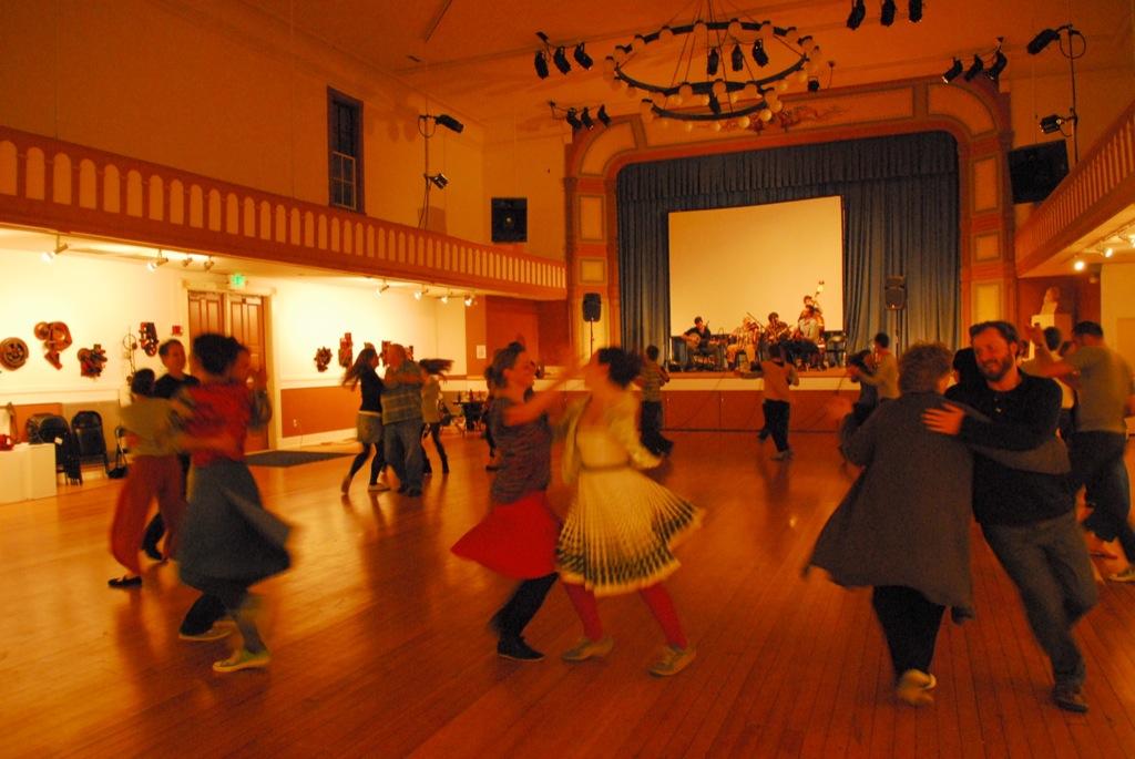 Folk Dancing at theBayview Opera House, District 10, April 10, 2011